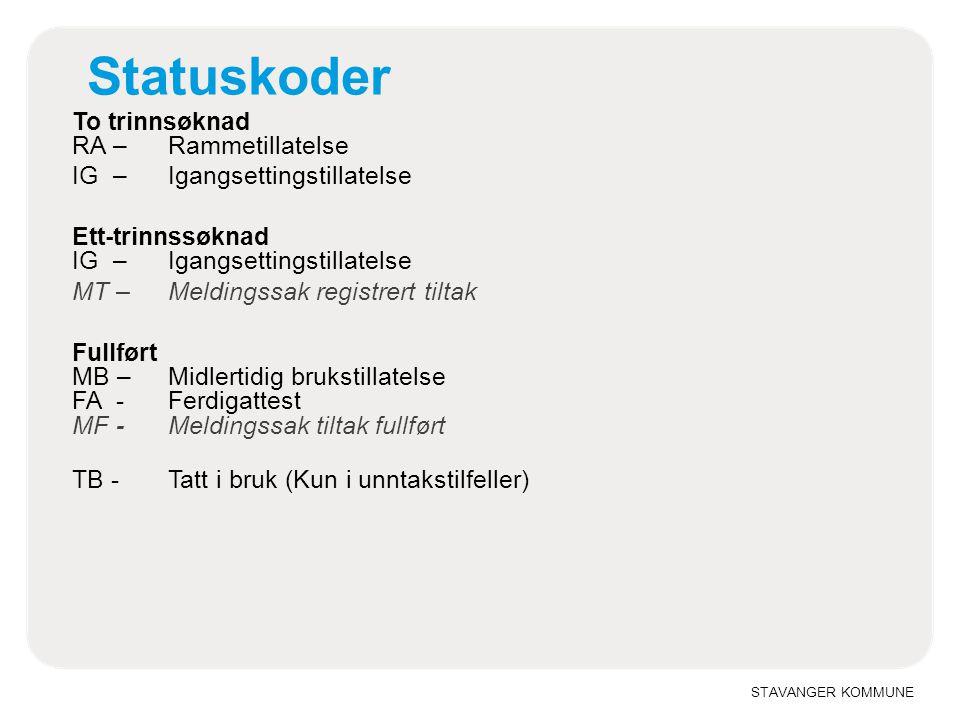 Statuskoder