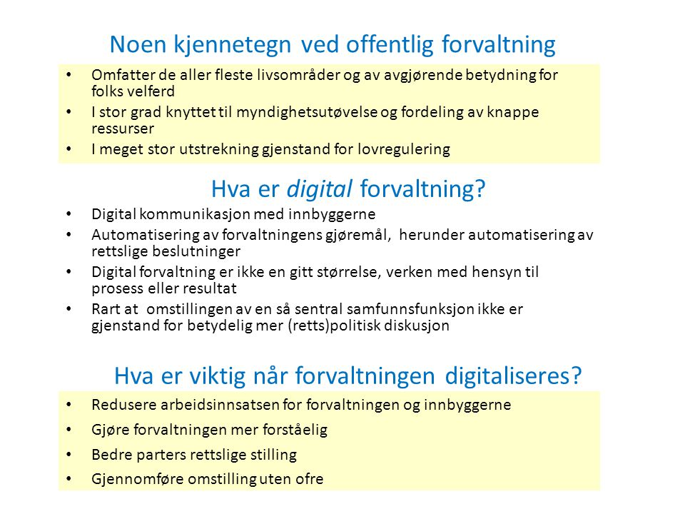 Hva er digital forvaltning