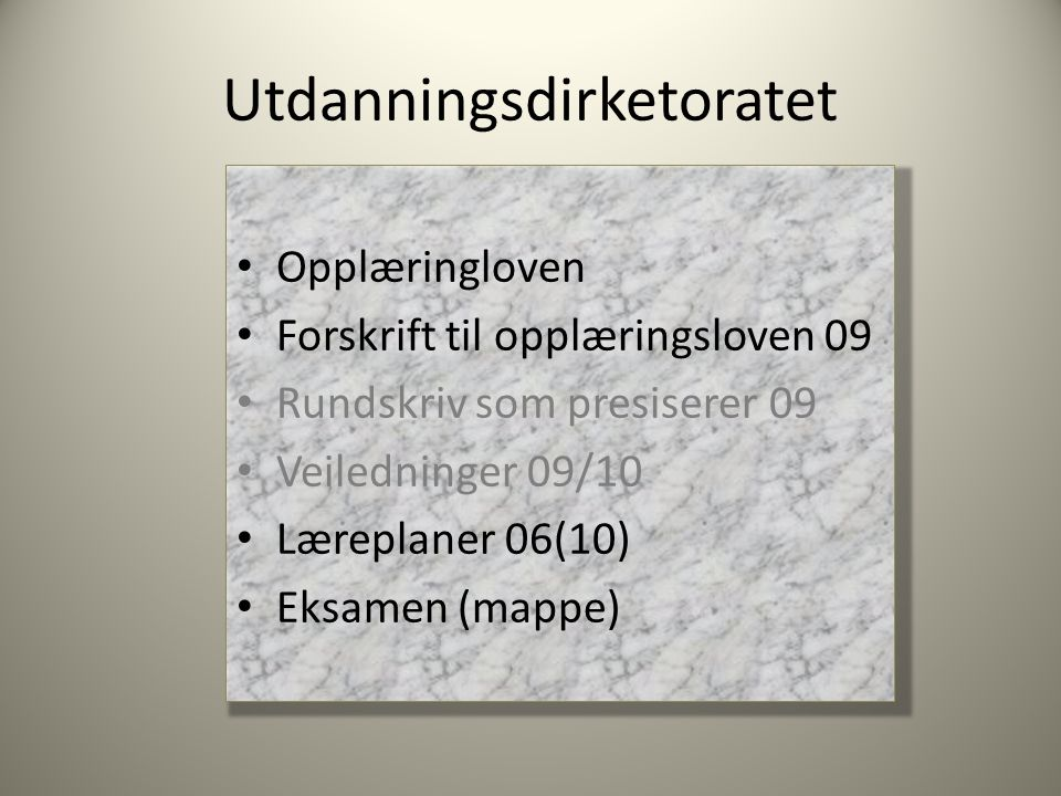 Utdanningsdirketoratet