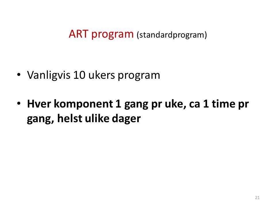 ART program (standardprogram)