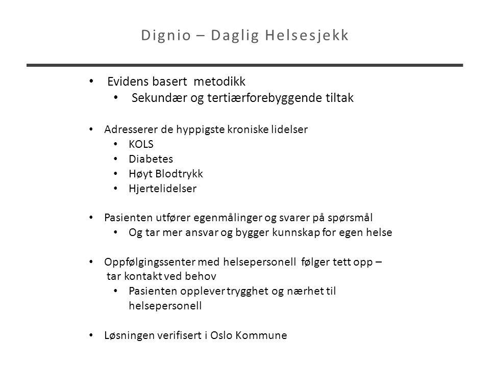 Dignio – Daglig Helsesjekk