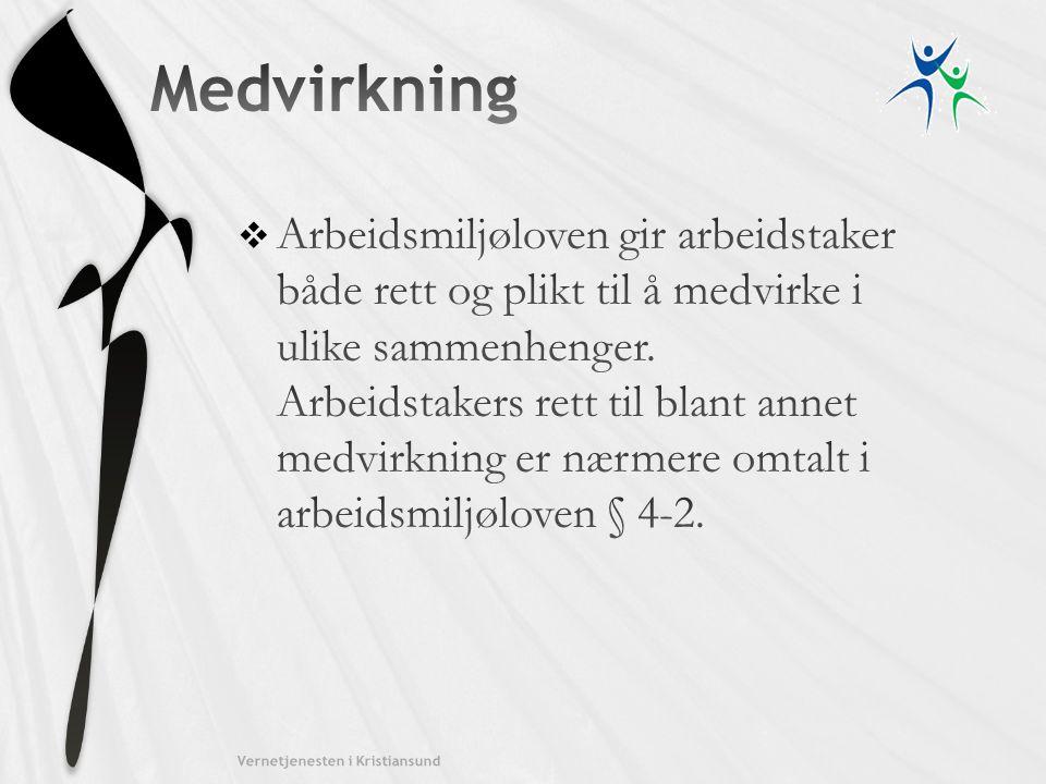 Kristiansund kommune Medvirkning.