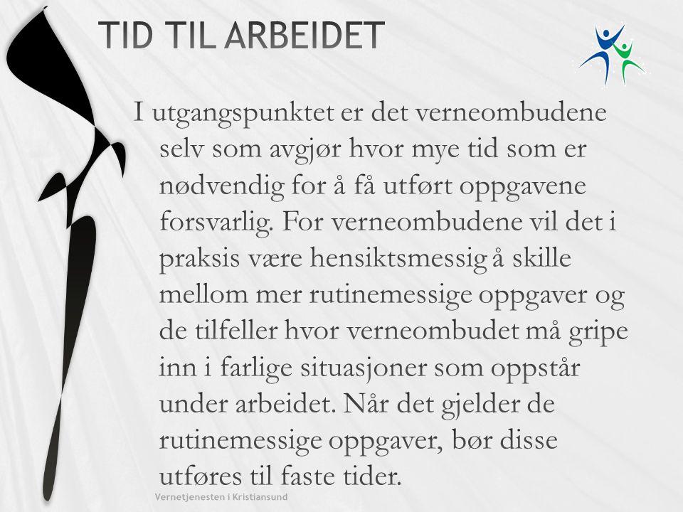Kristiansund kommune TID TIL ARBEIDET.