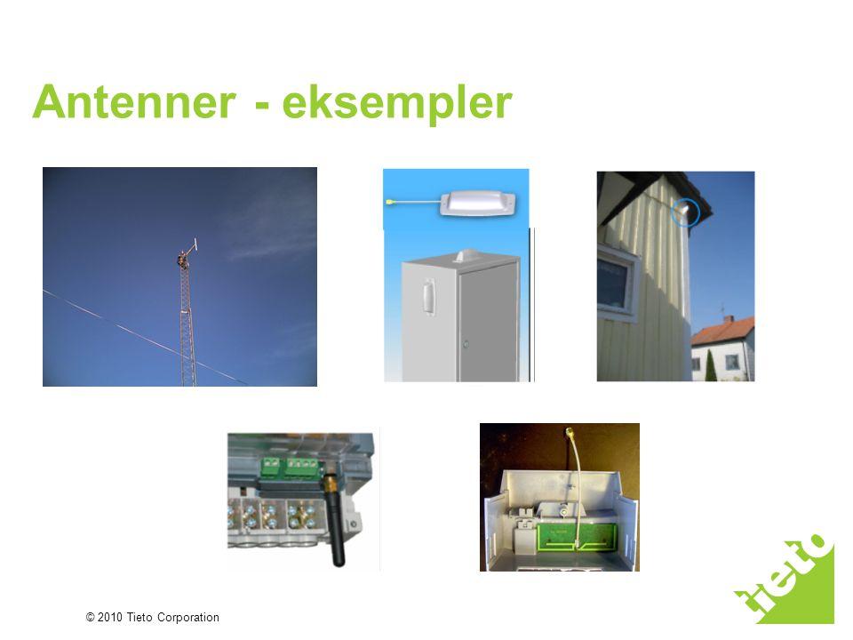 Antenner - eksempler
