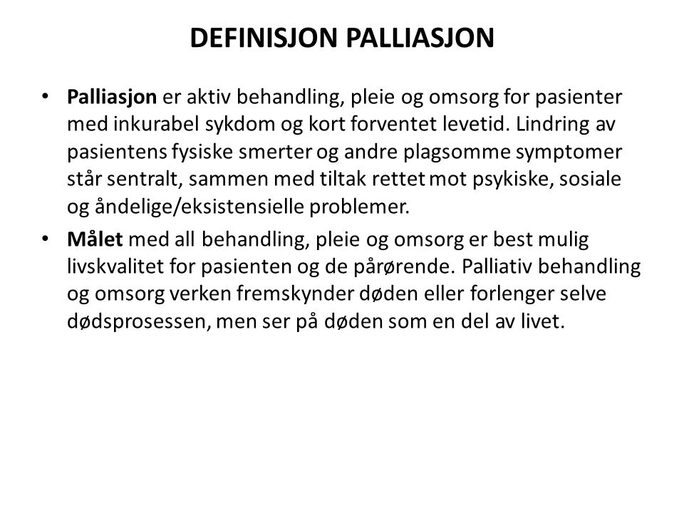 DEFINISJON PALLIASJON