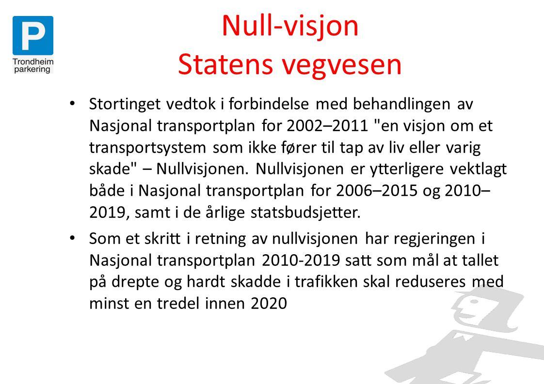Null-visjon Statens vegvesen