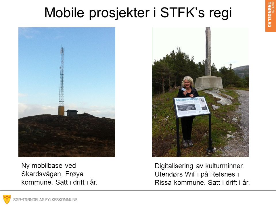 Mobile prosjekter i STFK's regi