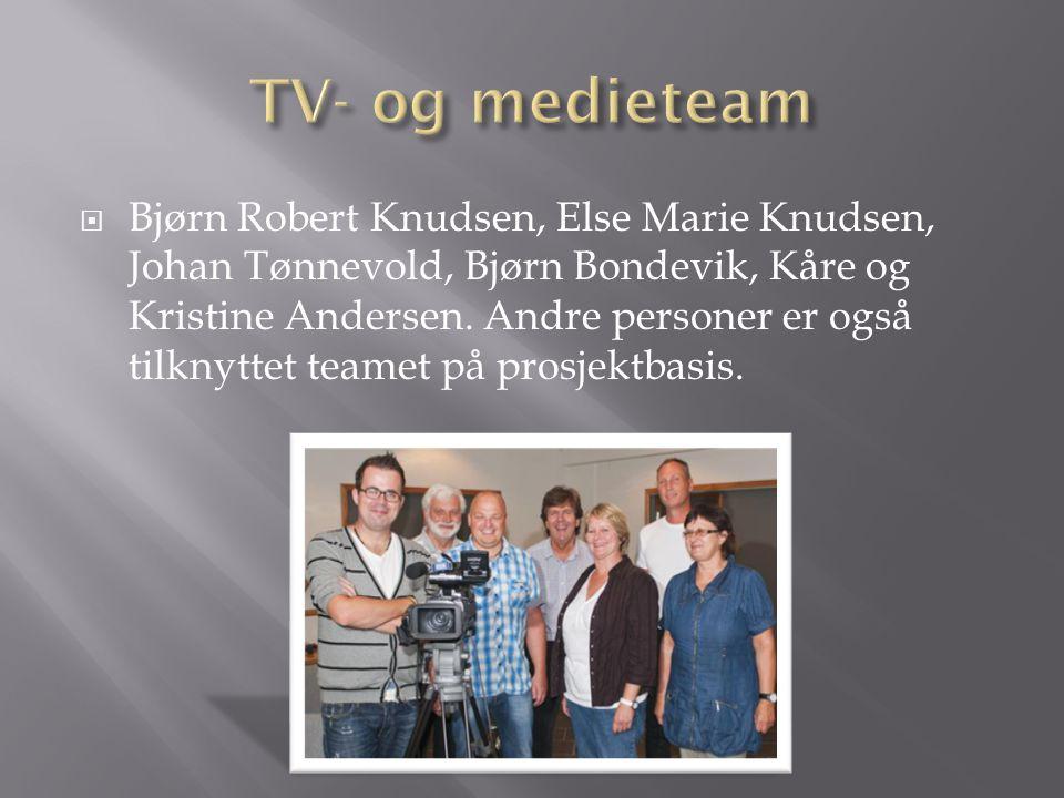 TV- og medieteam