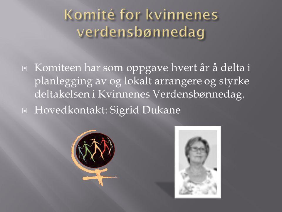 Komité for kvinnenes verdensbønnedag