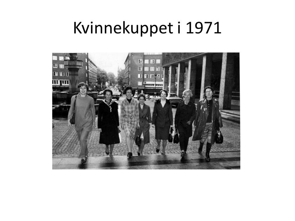 Kvinnekuppet i 1971