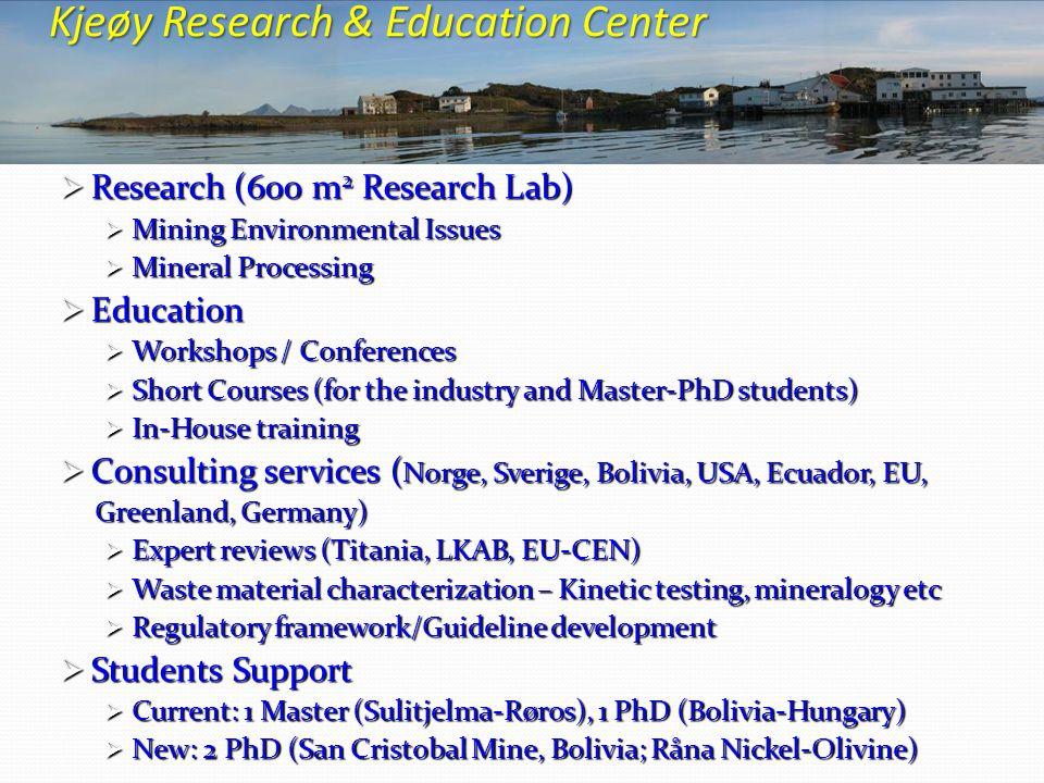 Kjeøy Research & Education Center