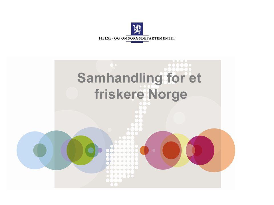 Samhandling for et friskere Norge