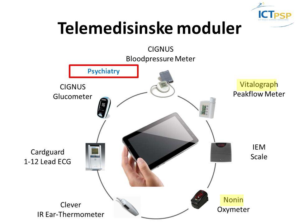 Telemedisinske moduler