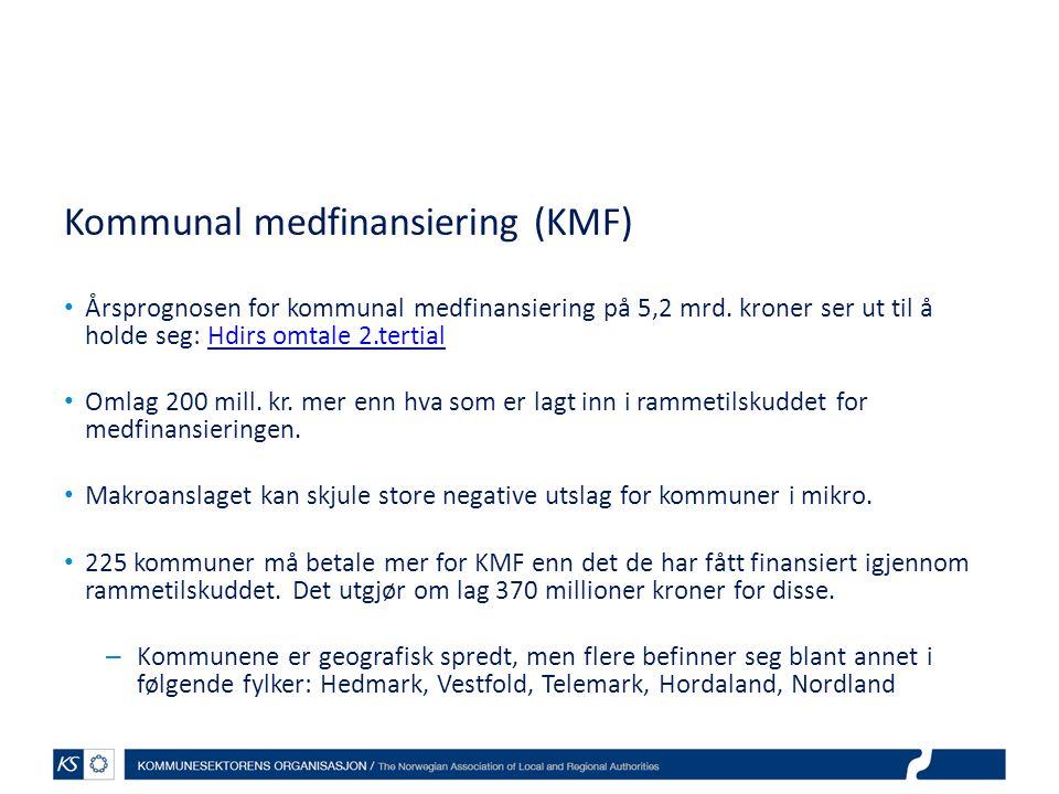 Kommunal medfinansiering (KMF)