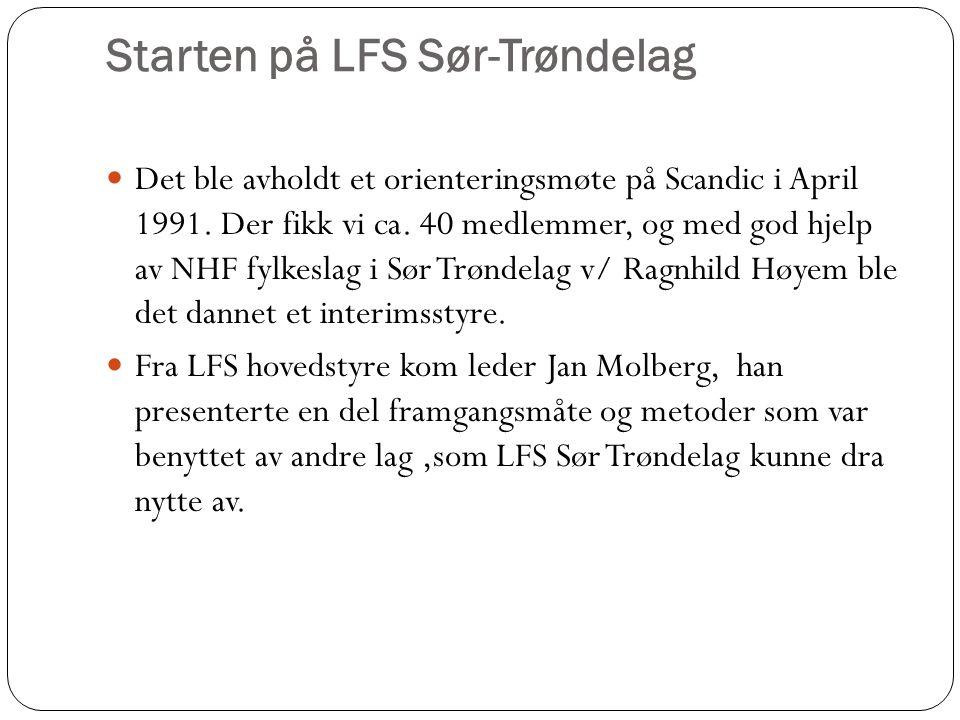Starten på LFS Sør-Trøndelag
