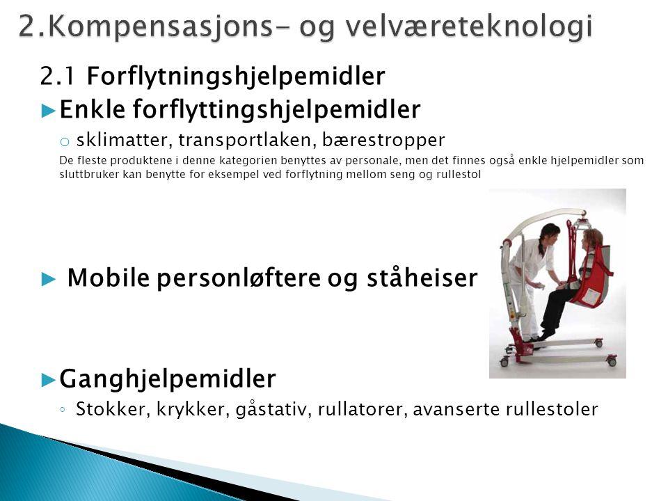 2.Kompensasjons- og velværeteknologi