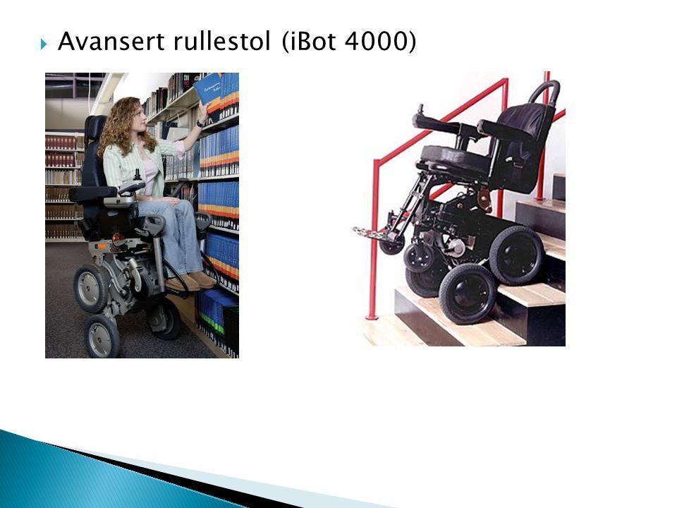 Avansert rullestol (iBot 4000)