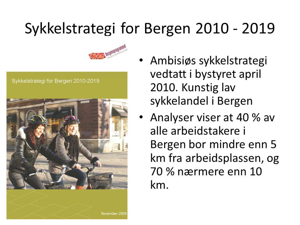 Sykkelstrategi for Bergen 2010 - 2019