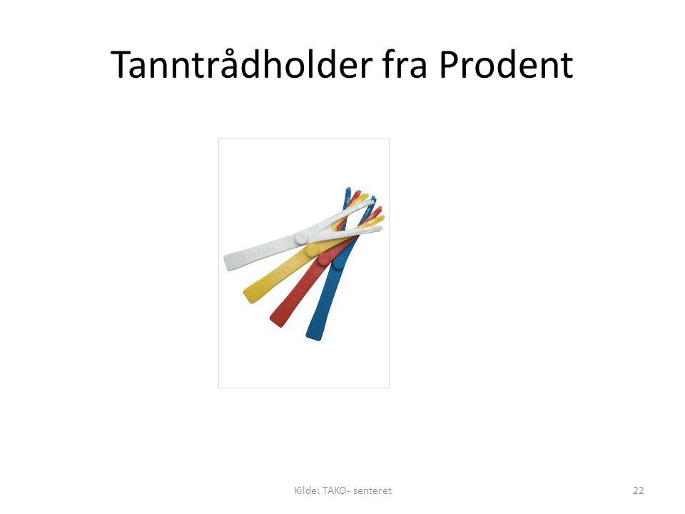 Tanntrådholder fra Prodent