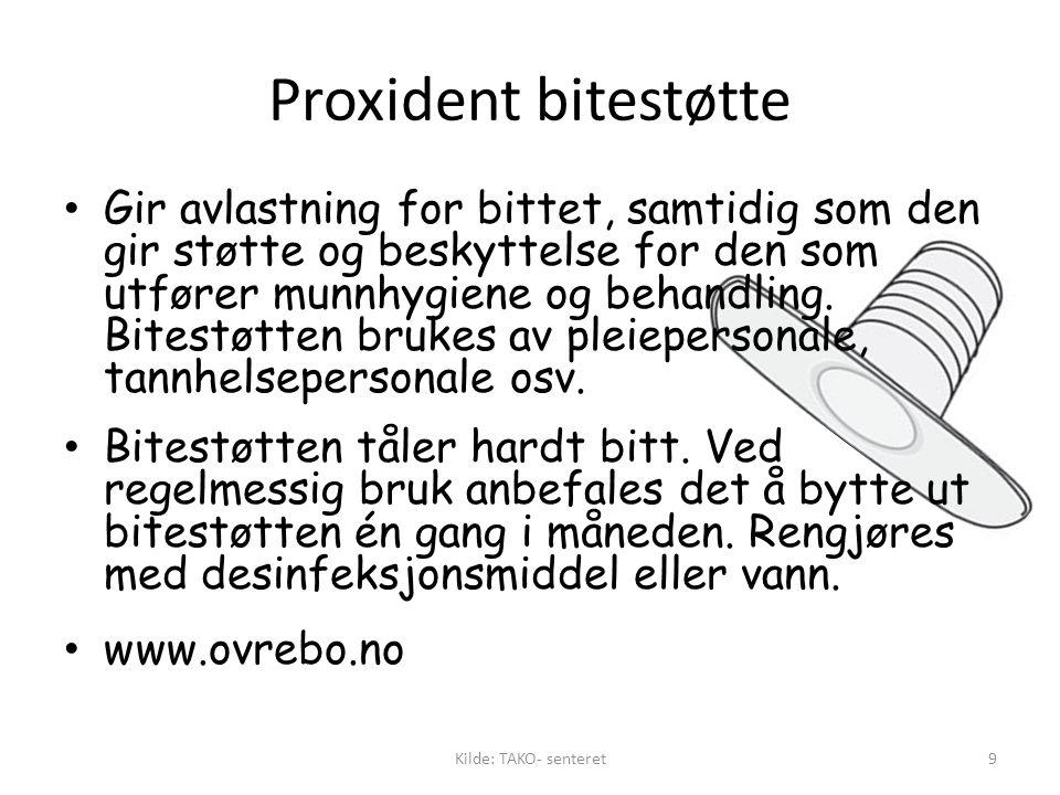 Proxident bitestøtte