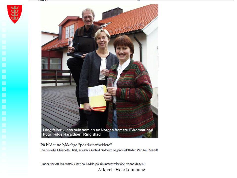 Arkivet - Hole kommune