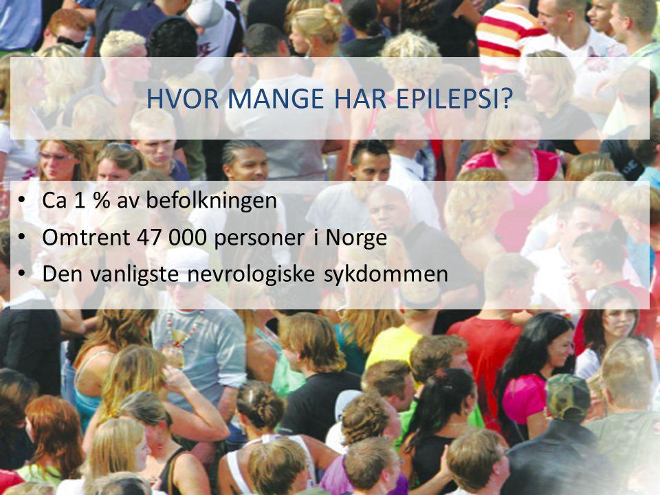 Hvor mange har epilepsi