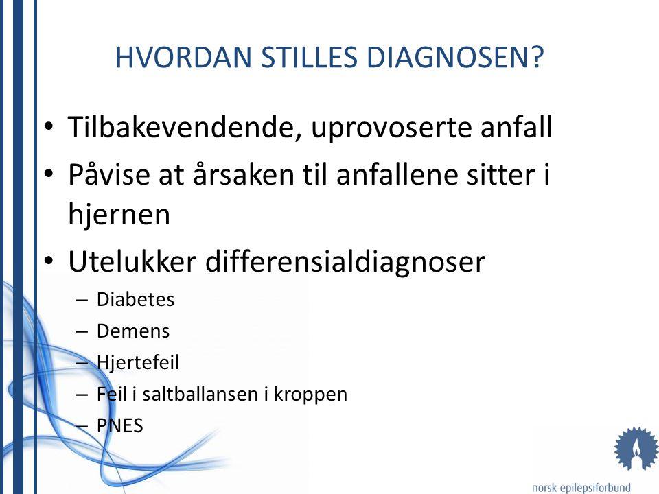 Hvordan stilles diagnosen