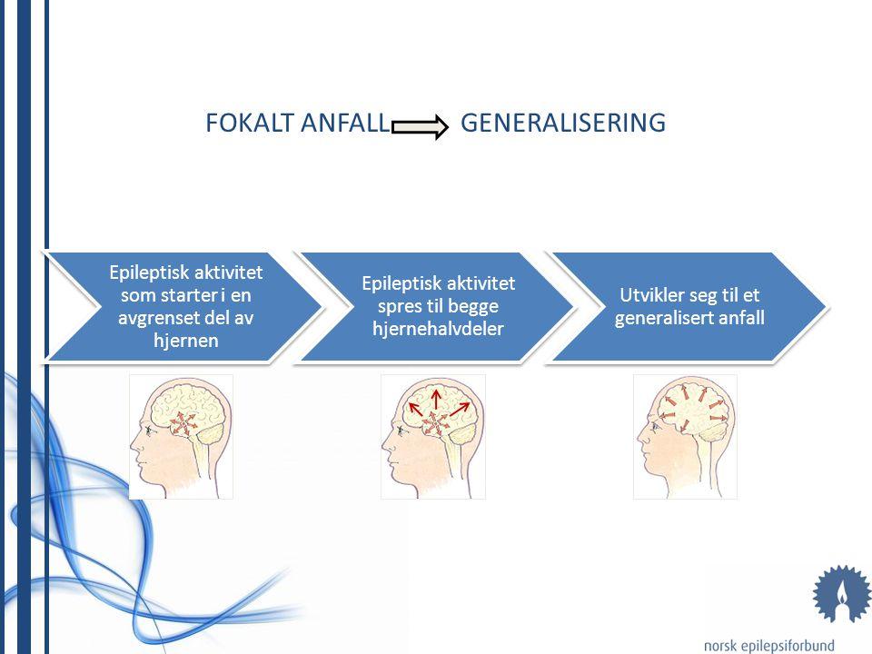 FOKALT ANFALL GENERALISERING
