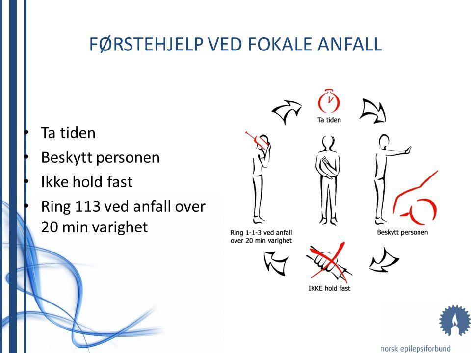 Førstehjelp ved Fokale Anfall