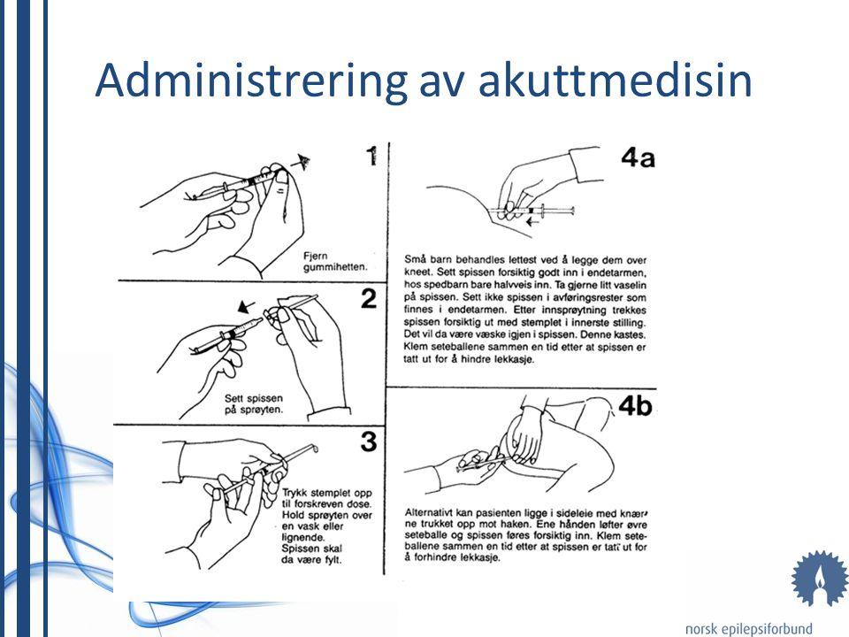Administrering av akuttmedisin