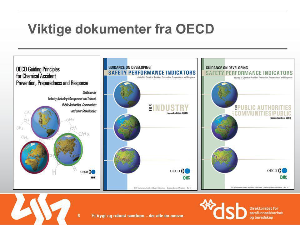 Viktige dokumenter fra OECD