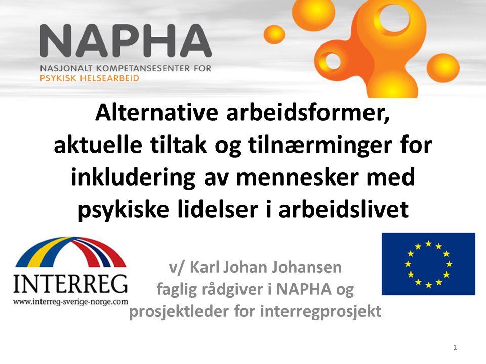 faglig rådgiver i NAPHA og prosjektleder for interregprosjekt