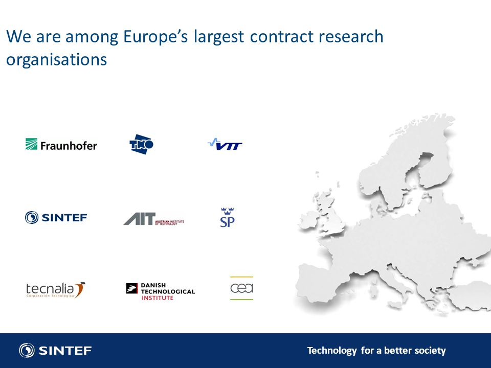 We are among Europe's largest contract research organisations