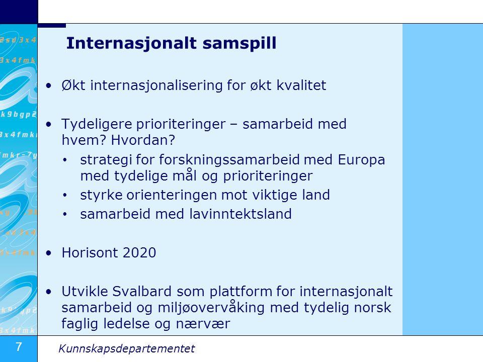Internasjonalt samspill