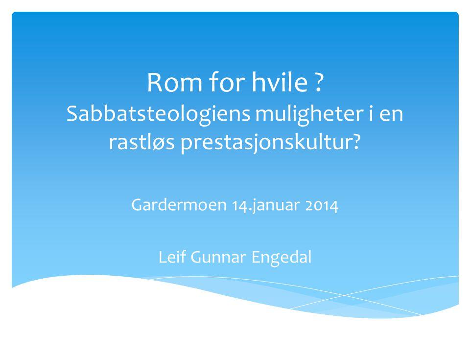 Gardermoen 14.januar 2014 Leif Gunnar Engedal
