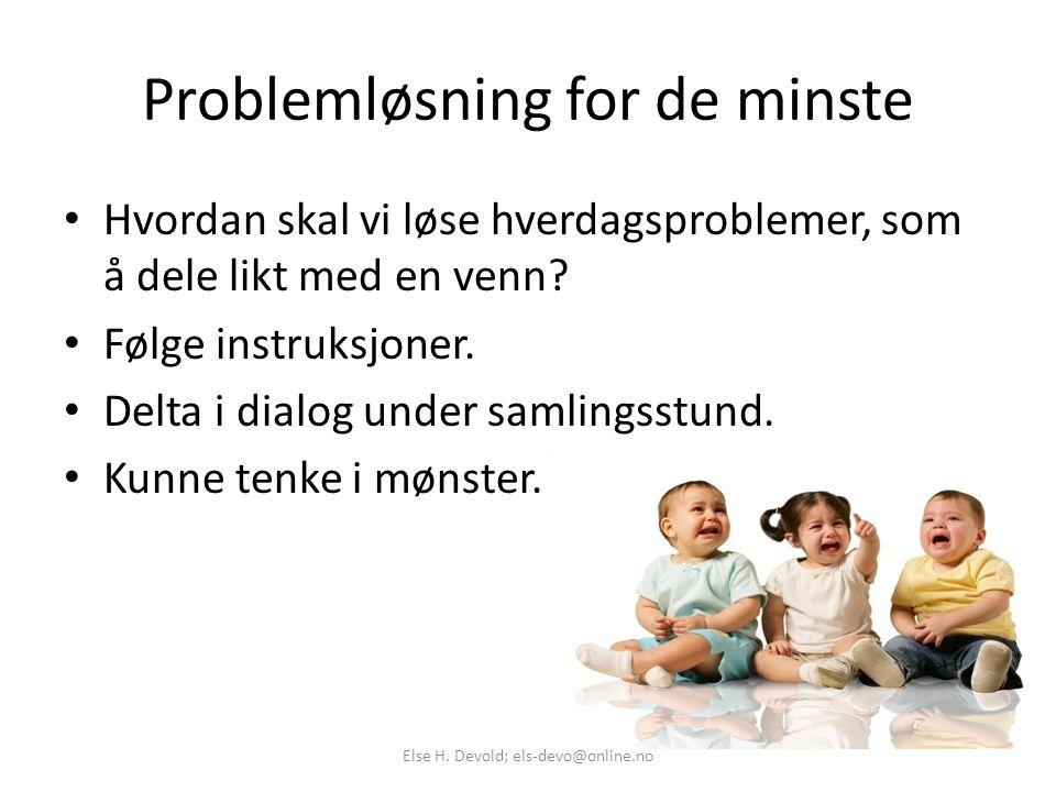 Problemløsning for de minste