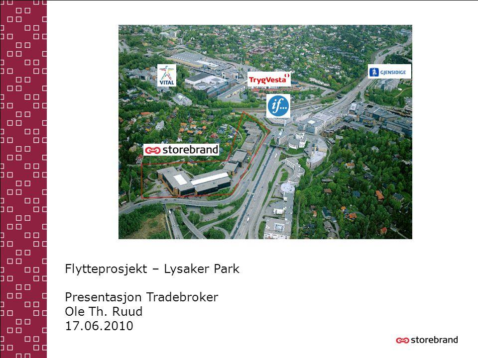 Flytteprosjekt – Lysaker Park