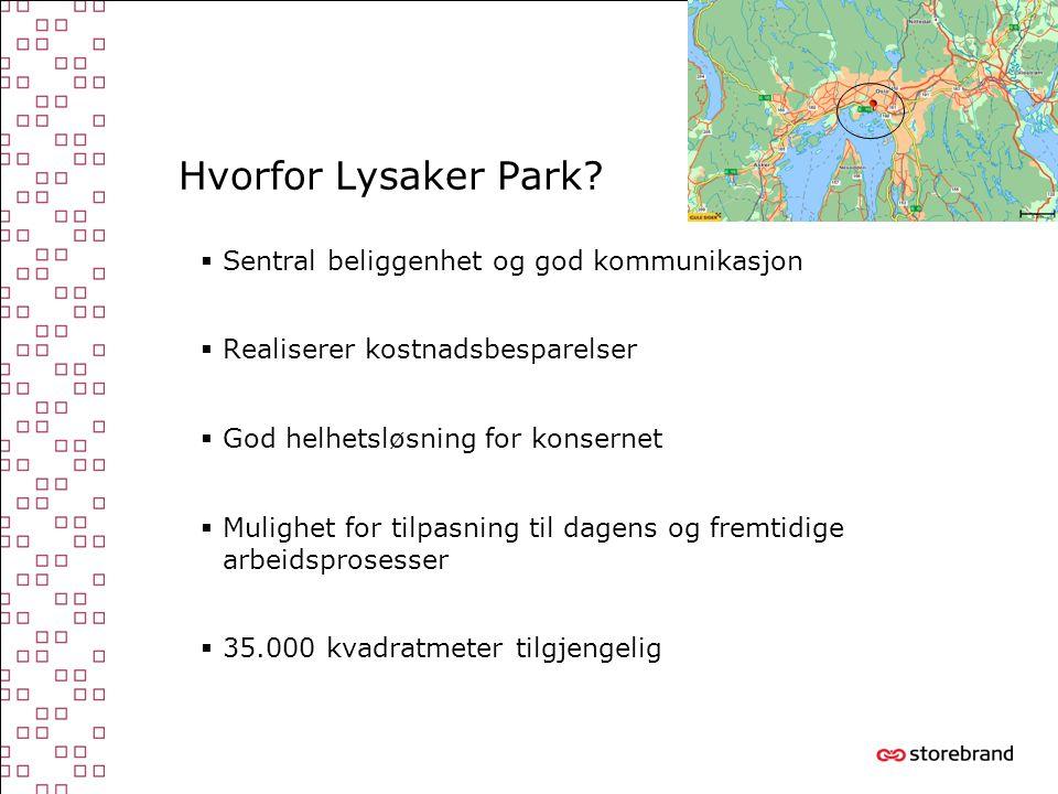 Hvorfor Lysaker Park Sentral beliggenhet og god kommunikasjon