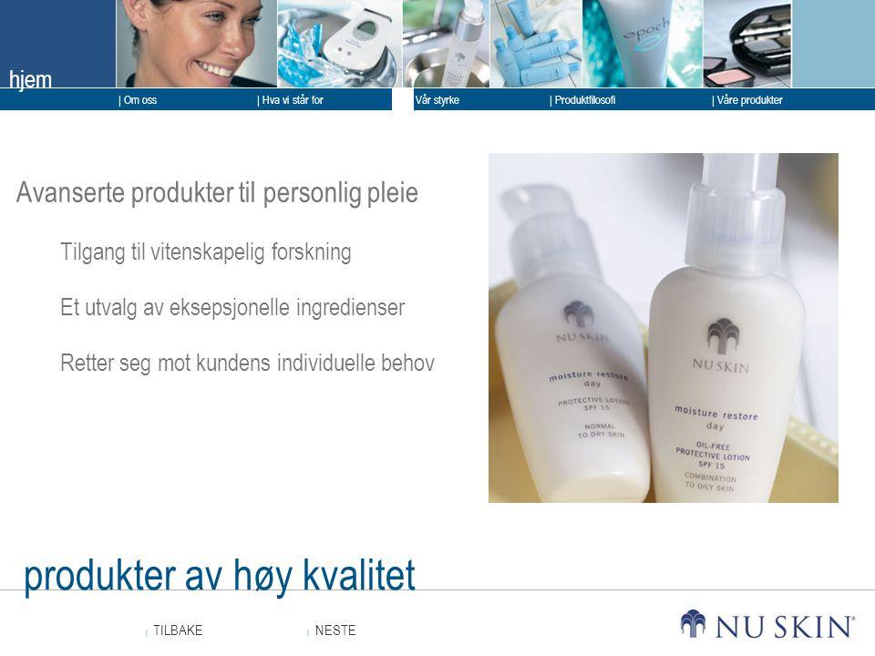 produkter av høy kvalitet