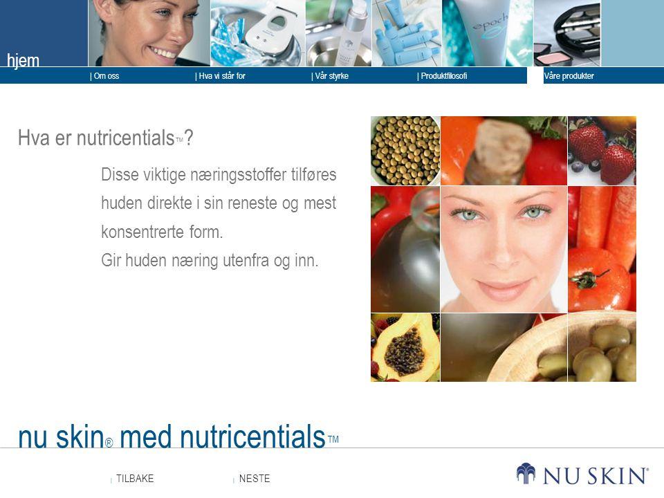 nu skin® med nutricentials™