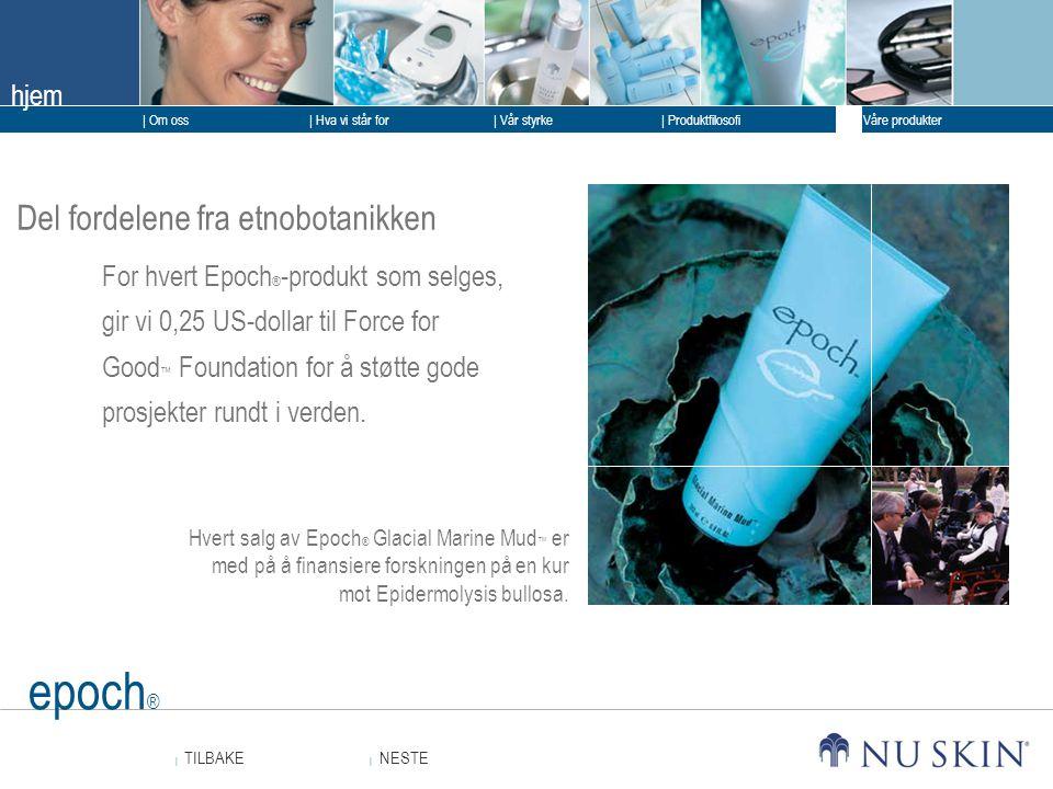 epoch® Del fordelene fra etnobotanikken