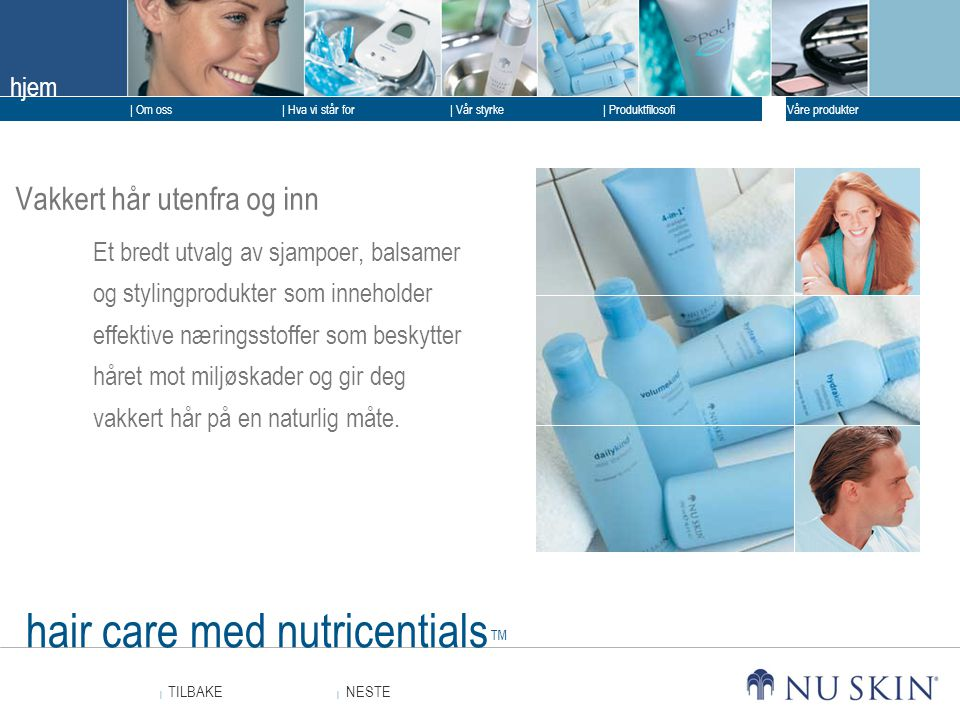 hair care med nutricentials™