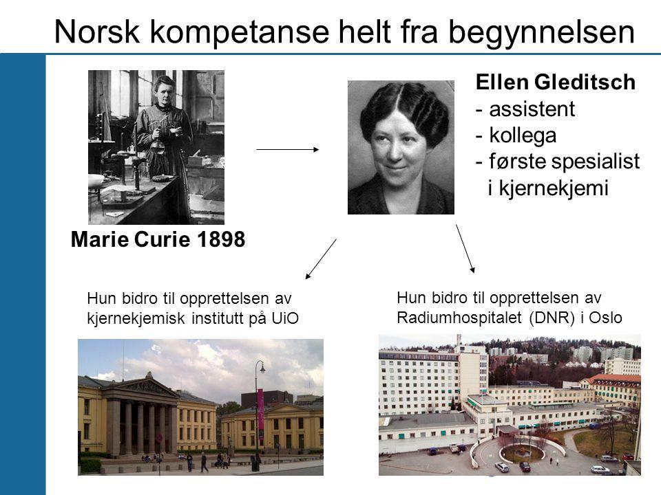 Norsk kompetanse helt fra begynnelsen