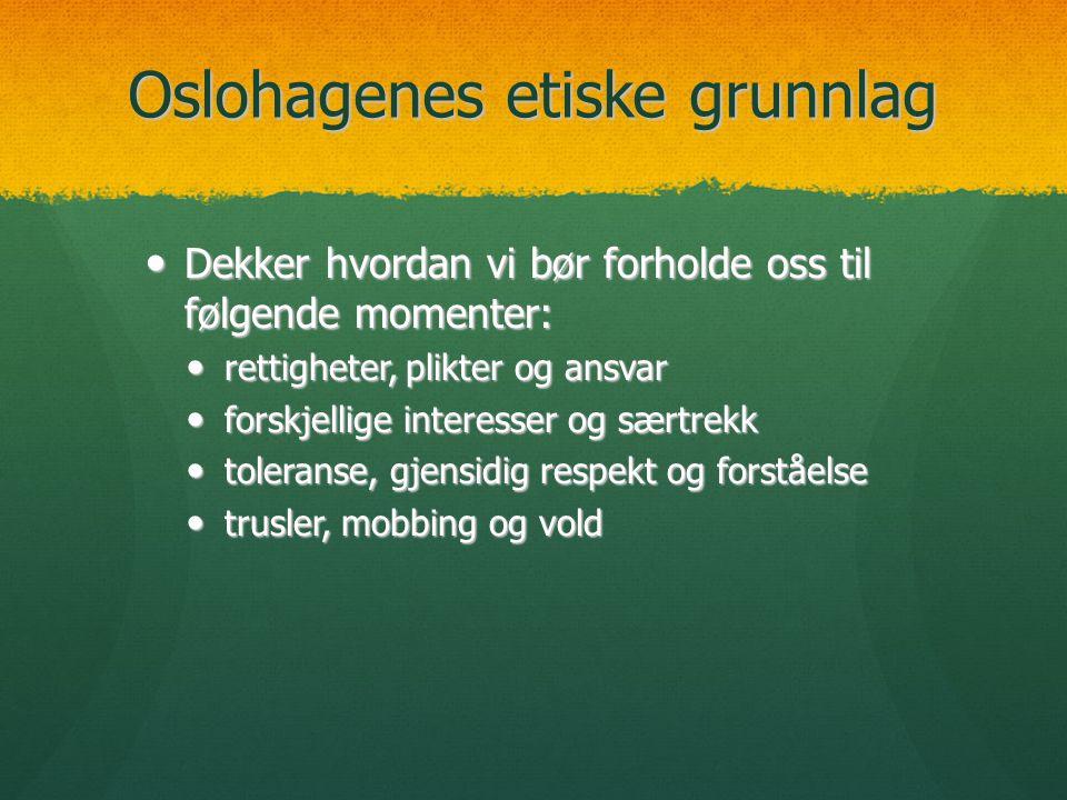 Oslohagenes etiske grunnlag