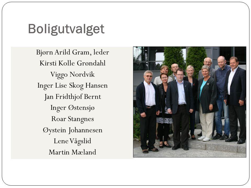 Boligutvalget Bjørn Arild Gram, leder Kirsti Kolle Grøndahl
