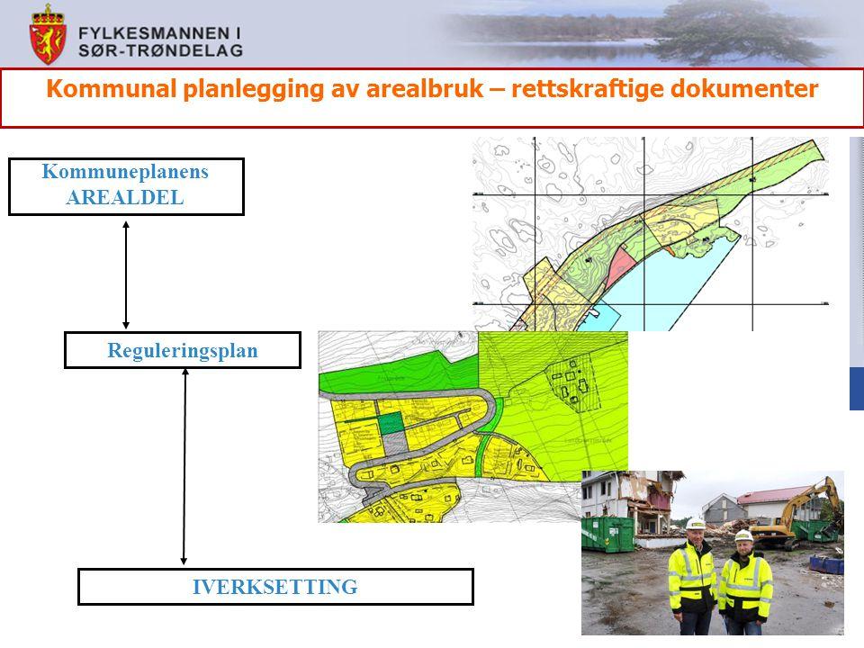 Kommunal planlegging av arealbruk – rettskraftige dokumenter