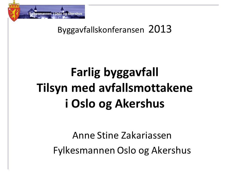 Anne Stine Zakariassen Fylkesmannen Oslo og Akershus