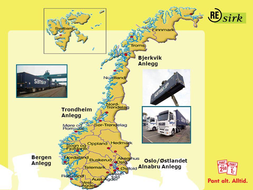 Bjerkvik Anlegg Trondheim Anlegg Bergen Anlegg