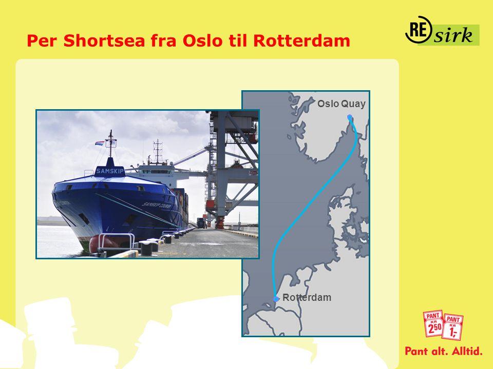 Per Shortsea fra Oslo til Rotterdam