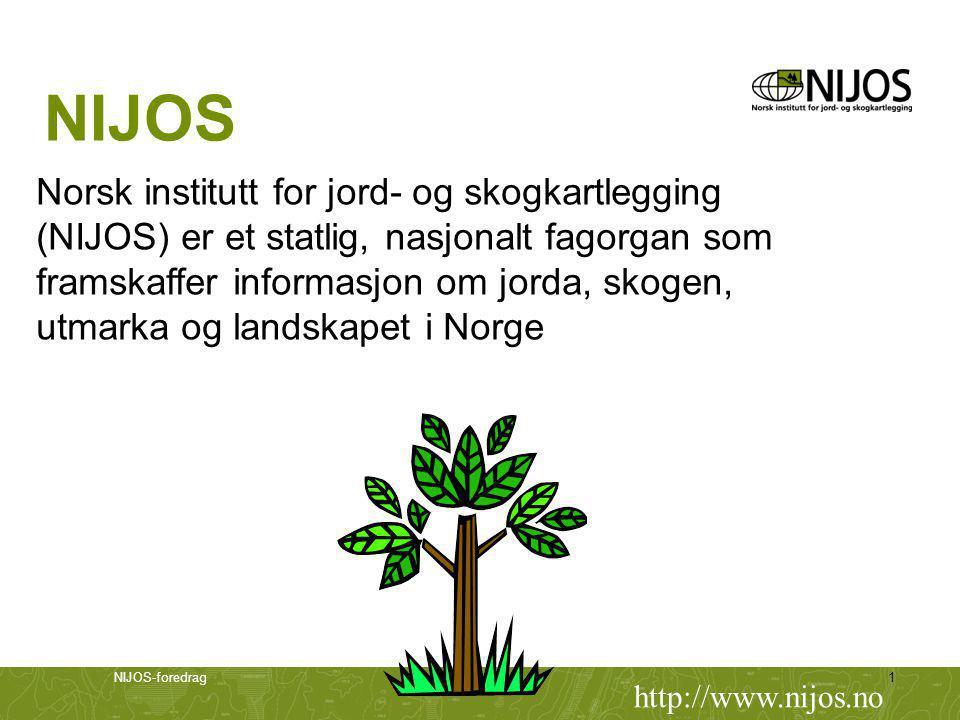 NIJOS Norsk institutt for jord- og skogkartlegging